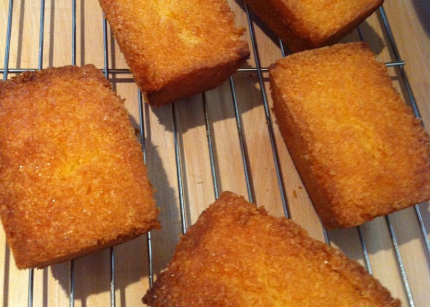 Clementine Drizzle Mini Loaf Cakes
